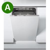Whirlpool WSIC3M27 C, Integrated Dishwasher