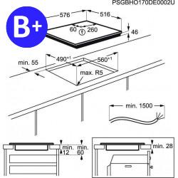 AEG IKB64301XB Integrated Induction Hob