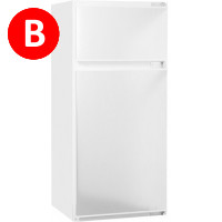 Constructa CK 64544 Integrated Fridge