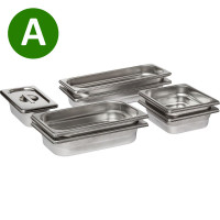 AEG  A9OBGC23, Large Stainless Steel Set