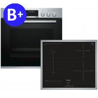 Bosch HND616LS60 (HEA5174S+NWP645CB2E), Set Oven-Hob (Induction)