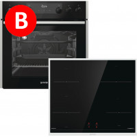 Gorenje BCI737E301X + ID640BX, Set Oven-Hob