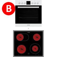 Privileg PV820 BR, Set Oven-Hob