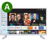 """F&U FLS32287WH, Smart TV LED 32"""" HD White"""